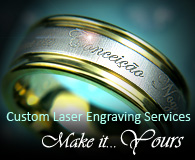 Custom laser engraving services!